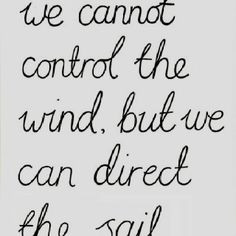 Sailing quotes - life lessons
