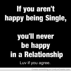 beautiful, cute, girls, im happy being single, inspirational, life ...