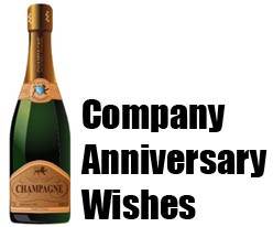 Company Anniversary Wishes and Messages
