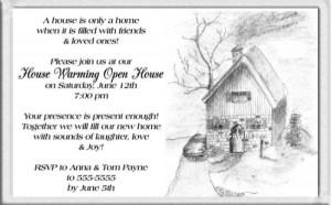 Housewarming Invitation Sayings