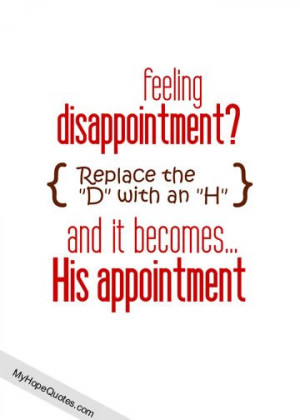 quotes about disappointment – empowering christian women feeling ...