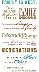Family Quotes For Scrapbooking Genealogy