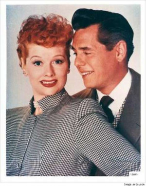 Love Lucy - Lucille Ball and Desi Arnaz