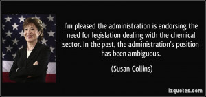 More Susan Collins Quotes