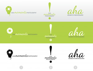 aha moments photography logo design aha moments photography ...
