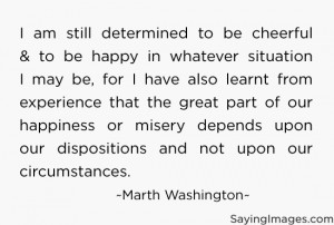 still determined to be cheerful & happy in whatever situation I ...
