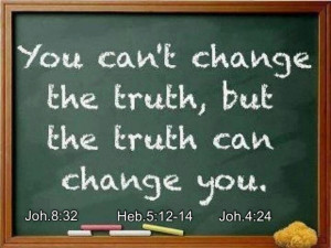 God's word is truth!
