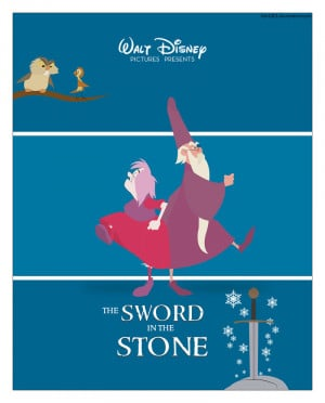 The Sword In The Stone Poster The sword in the stone by