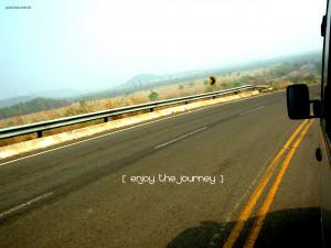 Enjoy the Journey Papel de Parede Imagem