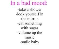 In a bad mood: yep this sums up my day..