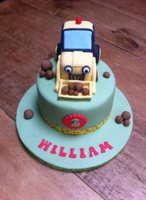 Pin Jakes Bob The Builder Birthday Cake Image Cake On Pinterest