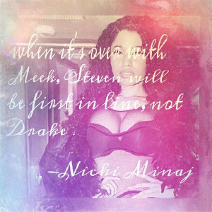 Nickiminaj # quotes she makes me feel special. Quotes about Love