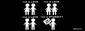 gay lesbian dont hate quote facebook timeline cover jpg