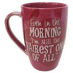 Disney Coffee Cup Mug - Princess Snow White - Quotes