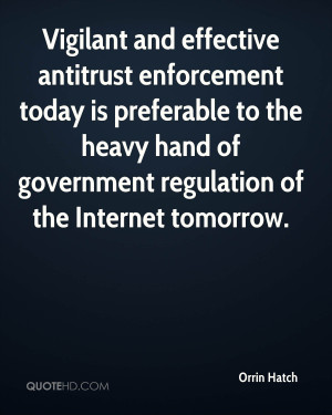 government regulation of the internet Self regulation over government regulation on the internet - how involved should the government be when it comes to regulation of the internet there are many different issues regarding internet regulation.