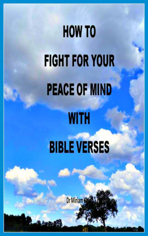 Pay for How to Fight for your Peace of Mind with Bible Verses