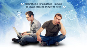 Inspiration Is for Amateurs—The Rest of Us Just Show Up and Get to ...