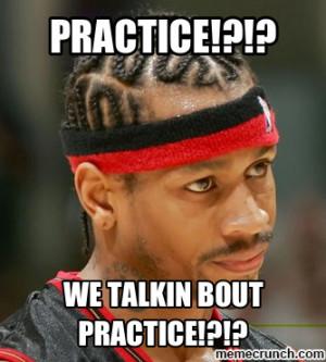 Allen Iverson Quotes Practice Allen iverson