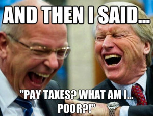 Sadly, for those who need the most help taxes aren't a laughing ...