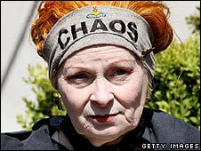 Dame Vivienne Westwood said she was