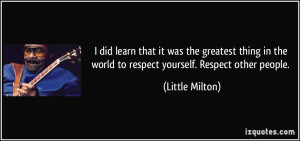 Respect People Quotes Picture quote: facebook cover