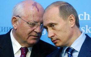 Mikhail Gorbachev tells Vladimir Putin 'not to be afraid of his own ...