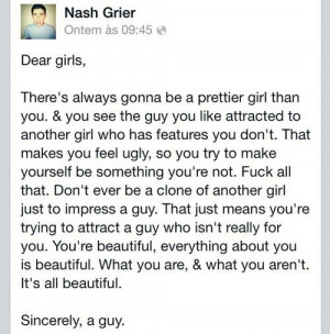 Nash Grier. Just like his other picture like this... He's perfect. And ...