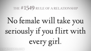 Flirty Quotes Tumblr Flirting with every girl