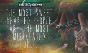 Those with broken moreread some of Quotes About Good Hearted People ...
