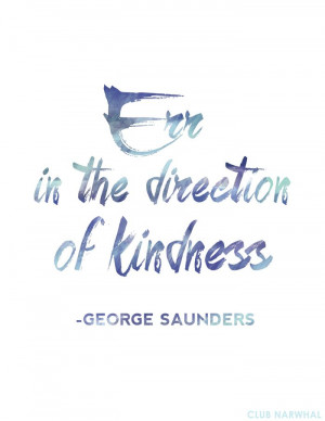 ... of kindness