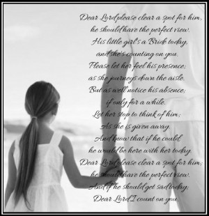 day.: Daddy Little Girls Poem, Little Girls Daddy Quotes, Daddy Girls ...