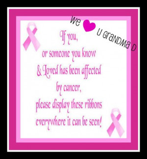 Cute Sayings For Breast Cancer
