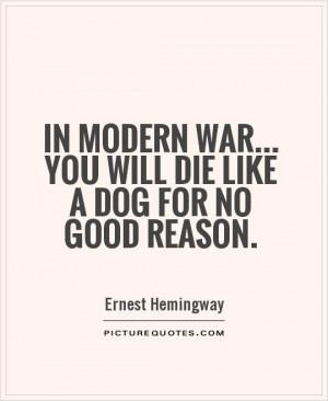 Good War Quotes