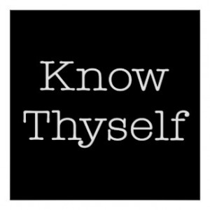 Know Thyself Quotes Inspirational Identity Quote Posters