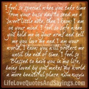 feel so special ..