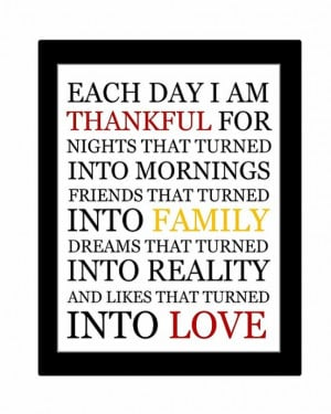 Inspirational Quotes About Giving Thanks
