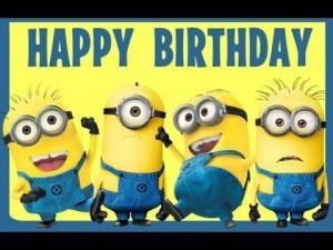 Happy Birthday Images Minions