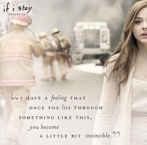 coma, film, girl, if i stay, movie, quotation, quote, stay