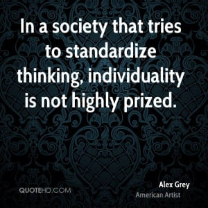 Alex Grey Society Quotes