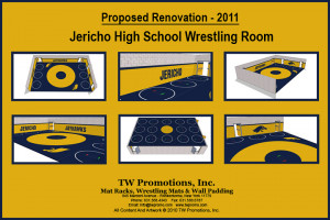 Wrestling Room Renovation