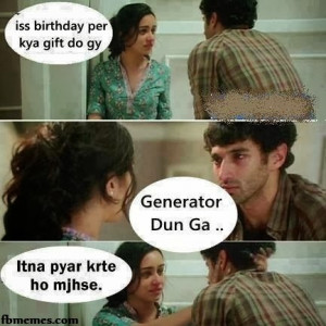 What will be My b'day present this time? Generator | Aashiqui 2