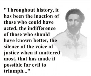 Haile Selassie - It is prophesied that oppression makes the wise man ...