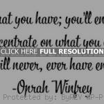 oprah winfrey, quotes, sayings, be thankful, life, quote oprah winfrey ...