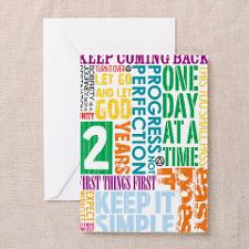 Recovery Anniversary Card (Pk of 10) Greeting Card