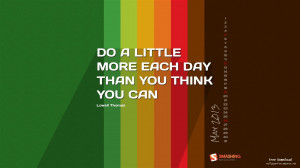 Quote Of The Day-2013 calendar desktop wallpapers