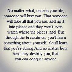 NO MATTER WHAT.....