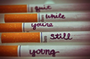 Quit Smoking | via Tumblr