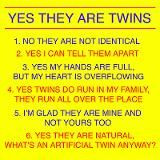 Twins Questions Fraternal Coffee Mug for AUD $21.00 I hear these ...