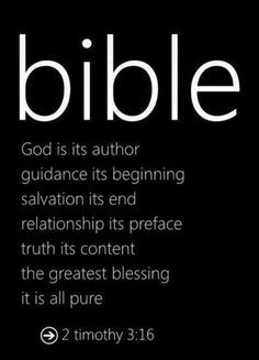 The Bible More