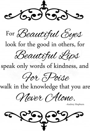 Beautiful Brown Eye Quotes Decals > beautiful eyes